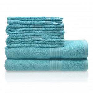 Handdoek luxe mint