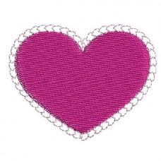 Borduurpatroon Hartje hartjes