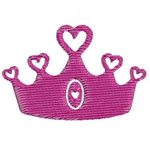 Borduurpatroon Kroon hartje
