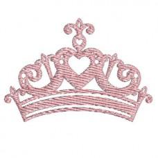 Borduurpatroon Kroon meisje