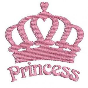 Borduurpatroon Princess