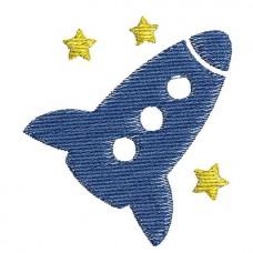 Borduurpatroon Raket ster