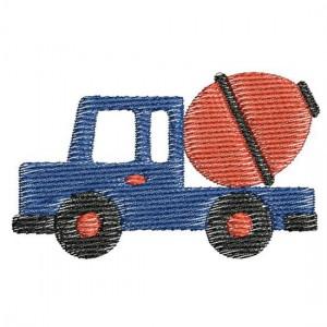 Borduurpatroon Vrachtwagen