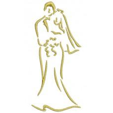 Borduurpatroon Bruidspaar