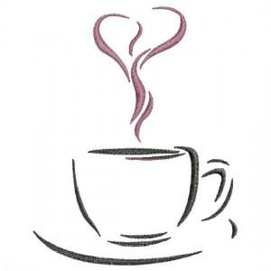 Borduurpatroon Cappuccino