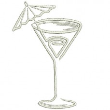 Borduurpatroon Cocktail