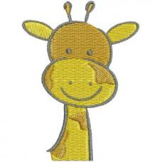 Borduurpatroon Giraffe