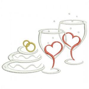 Borduurpatroon Huwelijksfeest