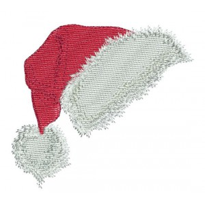 Borduurpatroon Kerstmuts