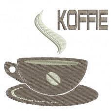 Borduurpatroon Bakje koffie