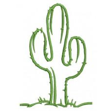 Borduurpatroon Cactus
