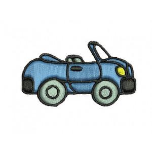 Borduurpatroon Auto Cabrio