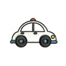 Borduurpatroon Auto Politie