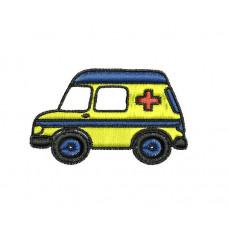 Borduurpatroon Ambulance