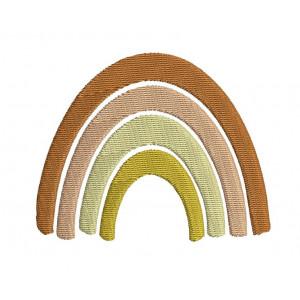 Borduurpatroon Regenboog