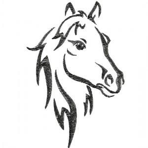 Borduurpatroon Paard