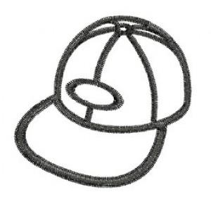 Borduurpatroon Petje lijn
