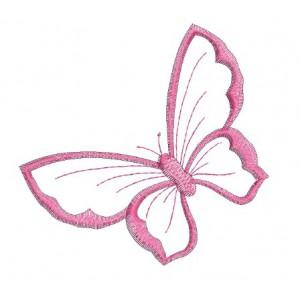 Borduurpatroon Vlinder groot