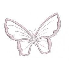 Borduurpatroon Vlinder klein