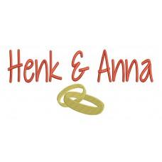 Bruiloft cadeau Ringen