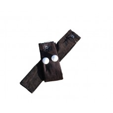 Golf handdoek Black