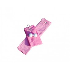 Golf handdoek Pink