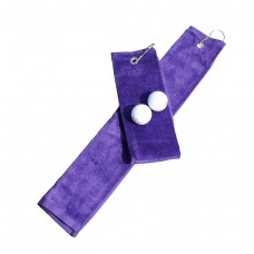 Golf handdoek Purple