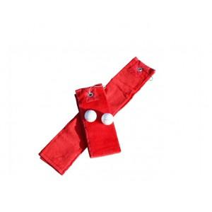 Golf handdoek Red