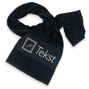 Sport Handdoek zwart