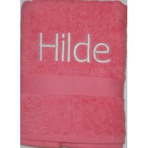 Handdoek indian red