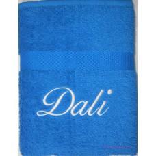 Handdoek cobalt blauw