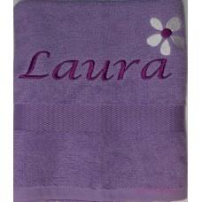 Handdoek lavendel
