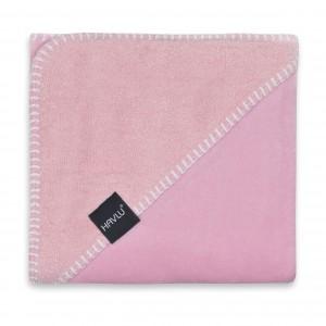 Badcape lus roze