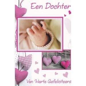 Kaart hart Een Dochter