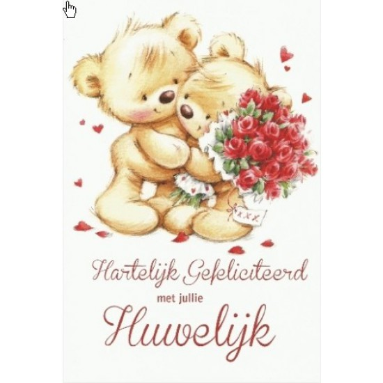 van harte gefeliciteerd met jullie huwelijk Kaart hartelijk met jullie huwelijk | naam borduren | BorduurKoning van harte gefeliciteerd met jullie huwelijk