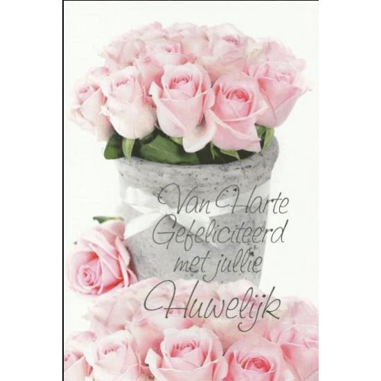 van harte gefeliciteerd met jullie huwelijk Kaart Van Harte Jullie Huwelijk | naam borduren | BorduurKoning van harte gefeliciteerd met jullie huwelijk