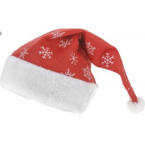 Kerstmuts rood luxe