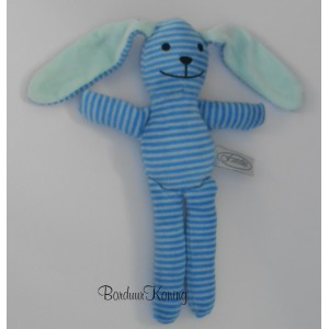 Knuffel gestreept blauw