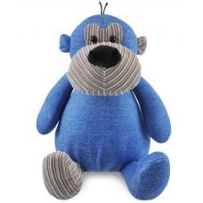 Knuffel Aap blauw