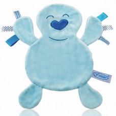 Labeldoekje baby blauw