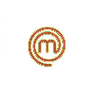 Borduurpatroon M logo