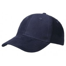 Cap brushed cotton navy