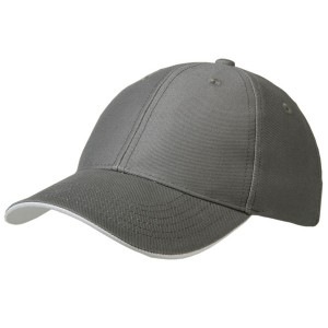 Cap heavy twill antraciet