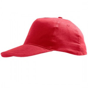 Kindercap rood