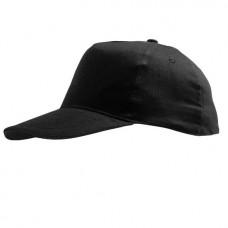 Kindercap zwart