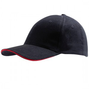 Cap Black Red