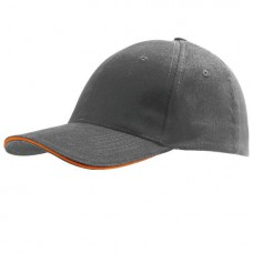 Cap Darkgrey Orange