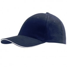 Cap French Navy White