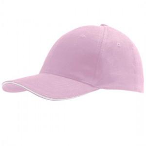 Cap Pink White