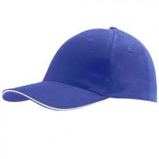 Cap Royal Blue White